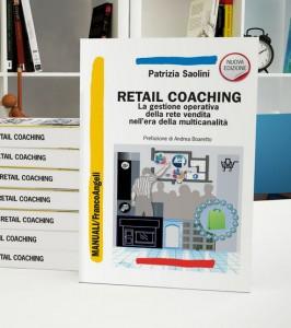 copertina del libro di Patrizia Saolini Retail Coaching